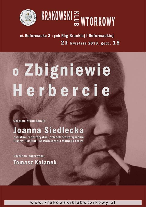 O Zbigniewie Herbercie
